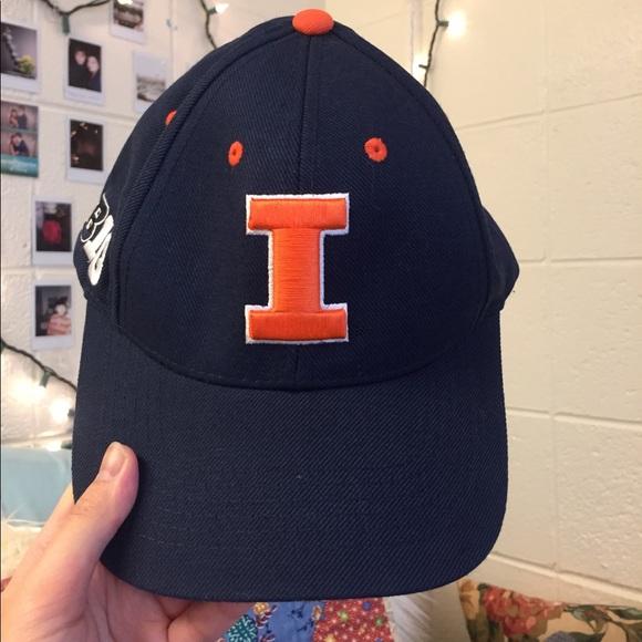 timeless design bda9d 3ee84 Big Ten Store Accessories - 🔸🔹 Fighting Illini Navy Blue Adjustable Hat  🔹🔸
